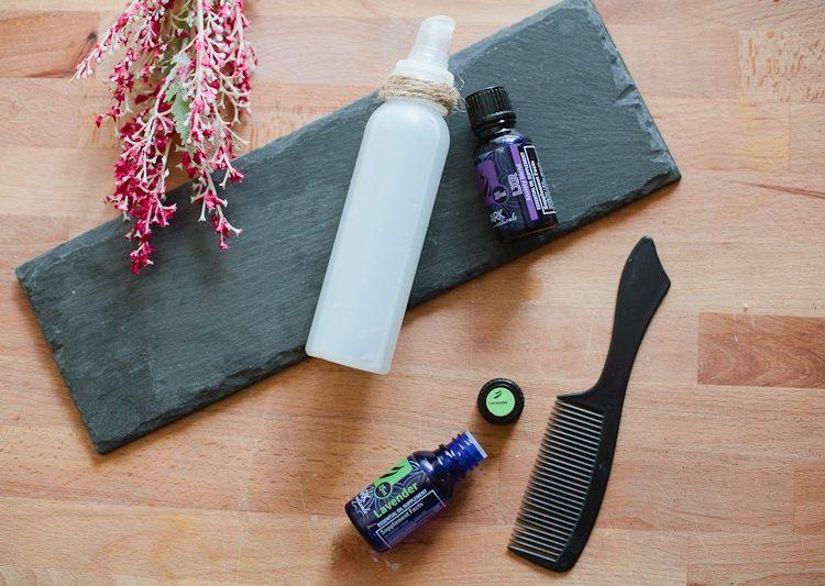 All Natural 3 Ingredient Hair Detangler