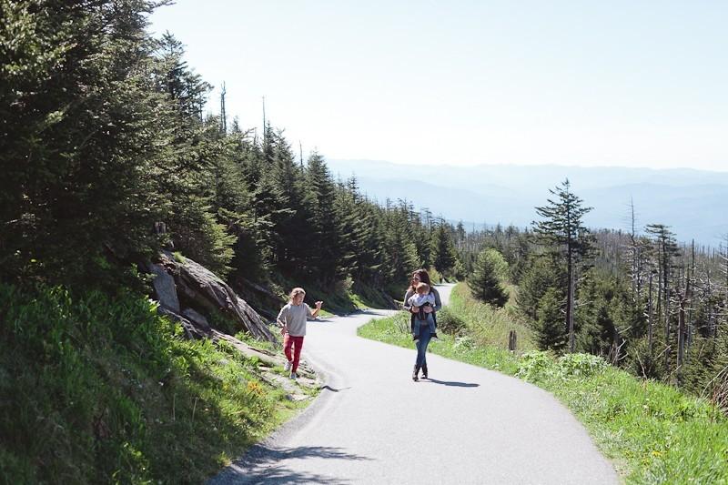 Smoky Mountains Clingmans Dome Hike