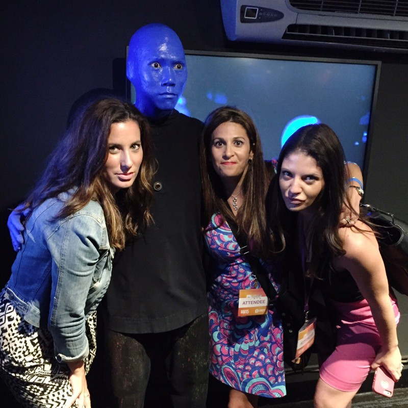 The Blue Man Group NYC