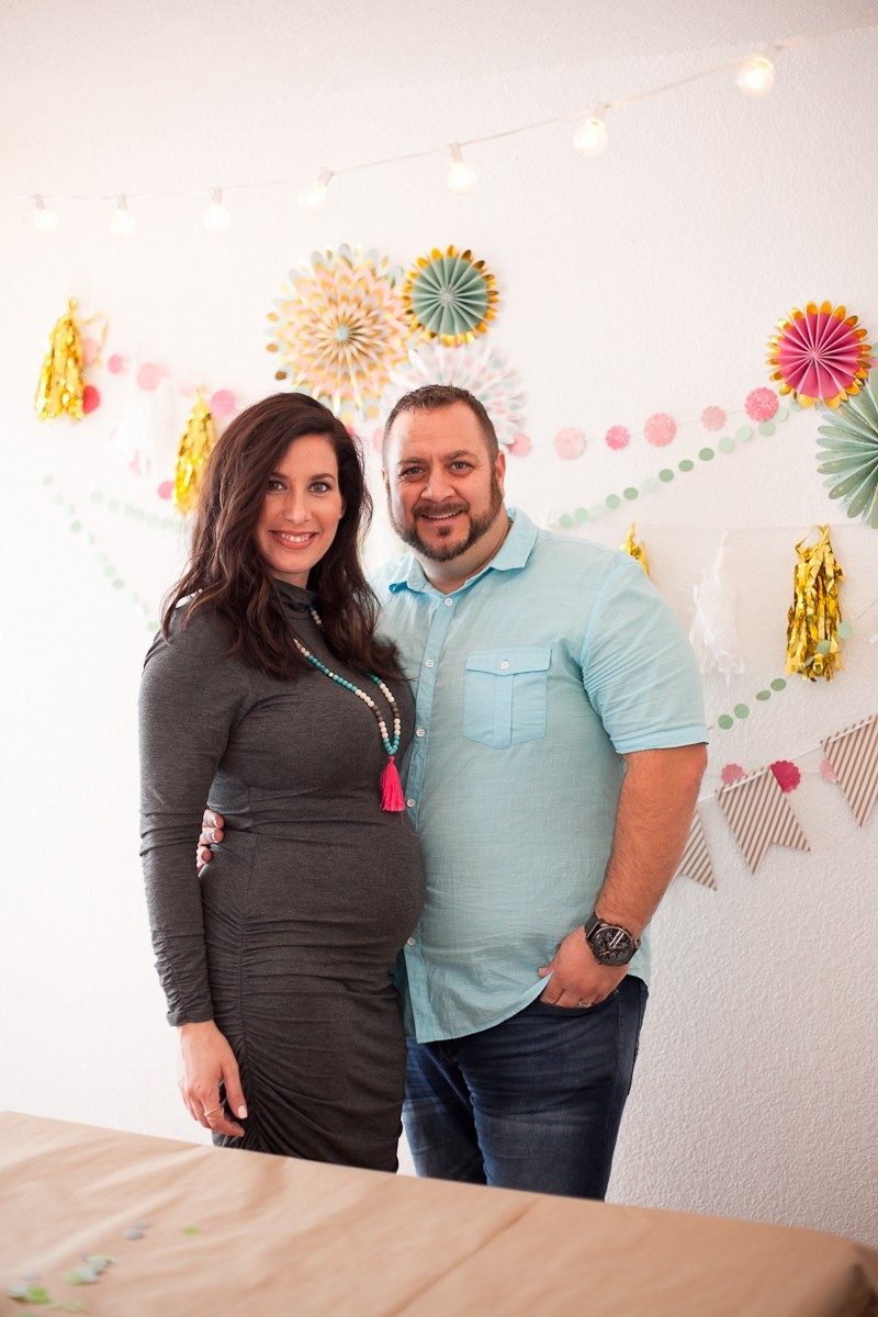 Baby Gender Reveal Party in Mint and Pink at Fresh Collective Studios, by Tabitha Blue of Fresh Mommy Blog-16