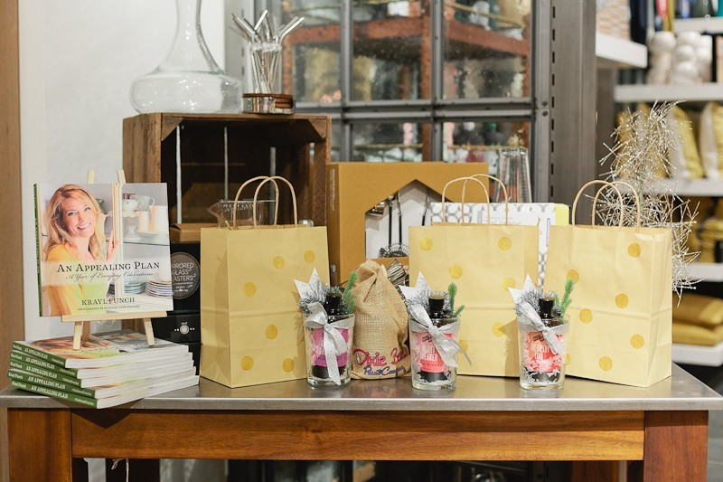 Giveaways and Swag at a #FreshEvent at West Elm