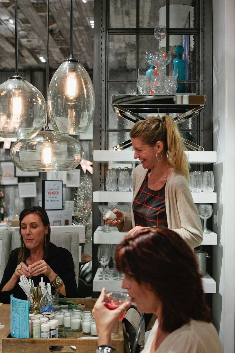 Fun creative crafting fun at this #FreshEvent at West Elm with Tabitha Blue and Krayl Funch