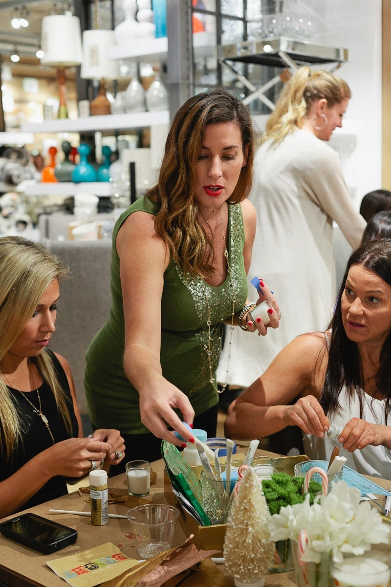 #FreshEvent at West Elm with Tabitha Blue