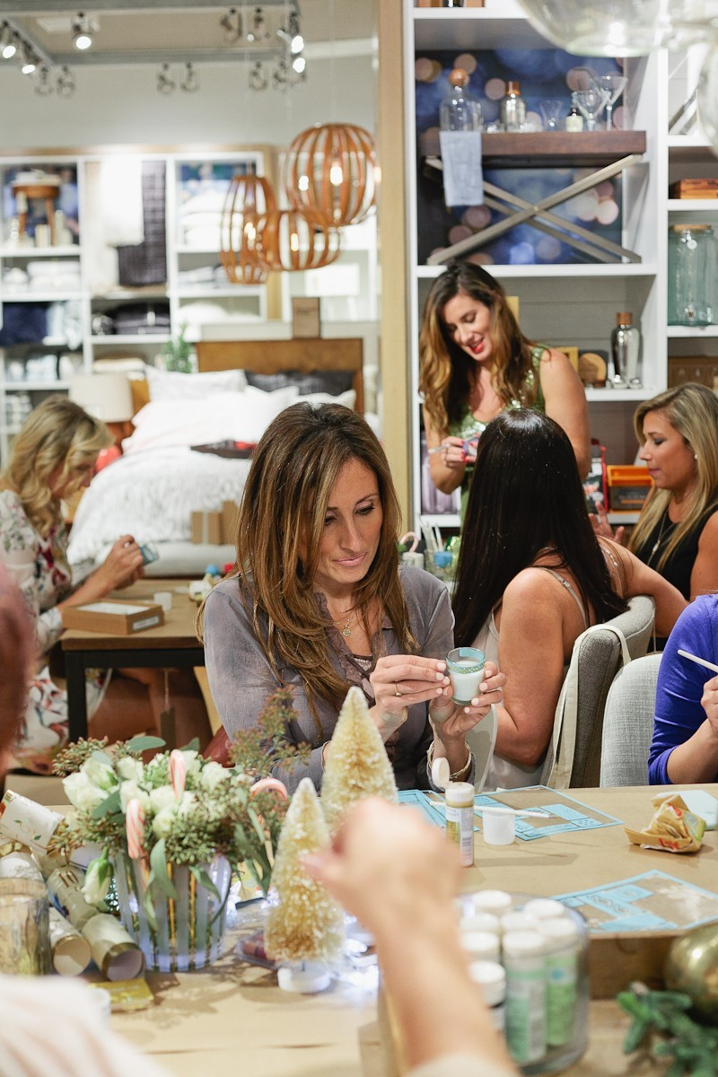 Fun creative crafting fun at this #FreshEvent at West Elm with Tabitha Blue