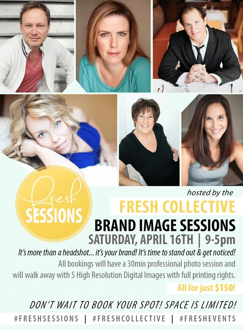 Brand Image Sessions at Fresh Collective Studio!