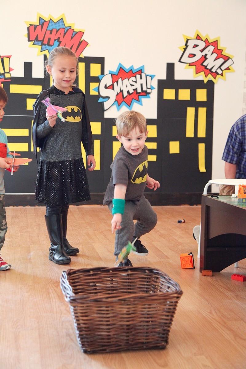 Brayden's Superhero Lego Birthday Party-16
