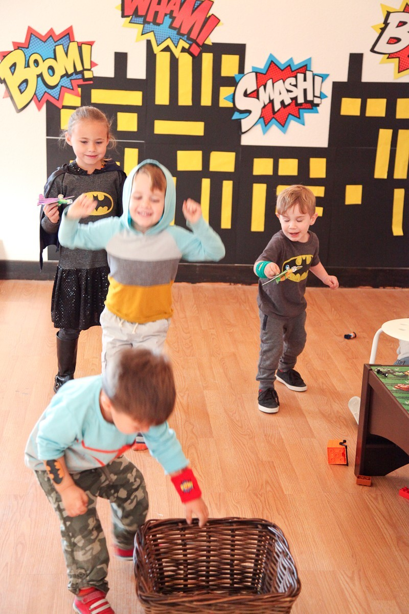 Brayden's Superhero Lego Birthday Party-17