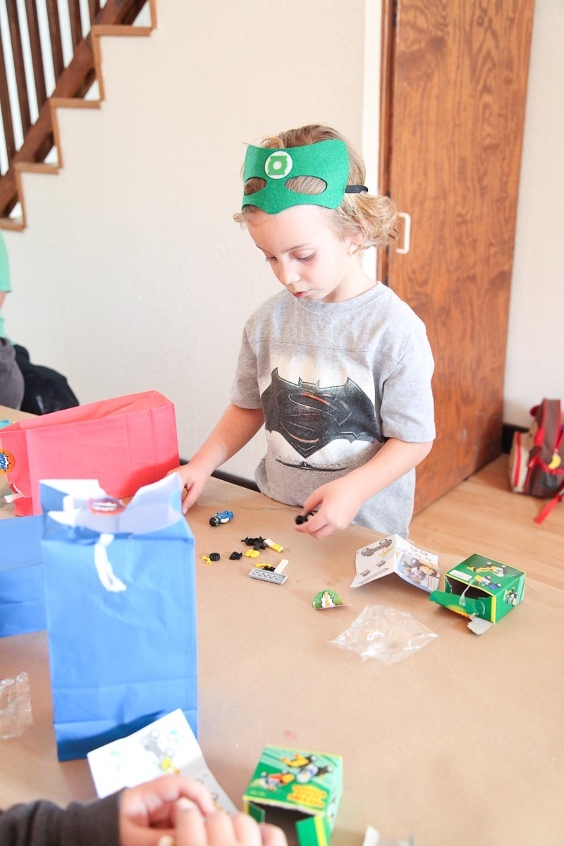Brayden's Superhero Lego Birthday Party-25