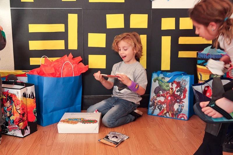 Brayden's Superhero Lego Birthday Party-3
