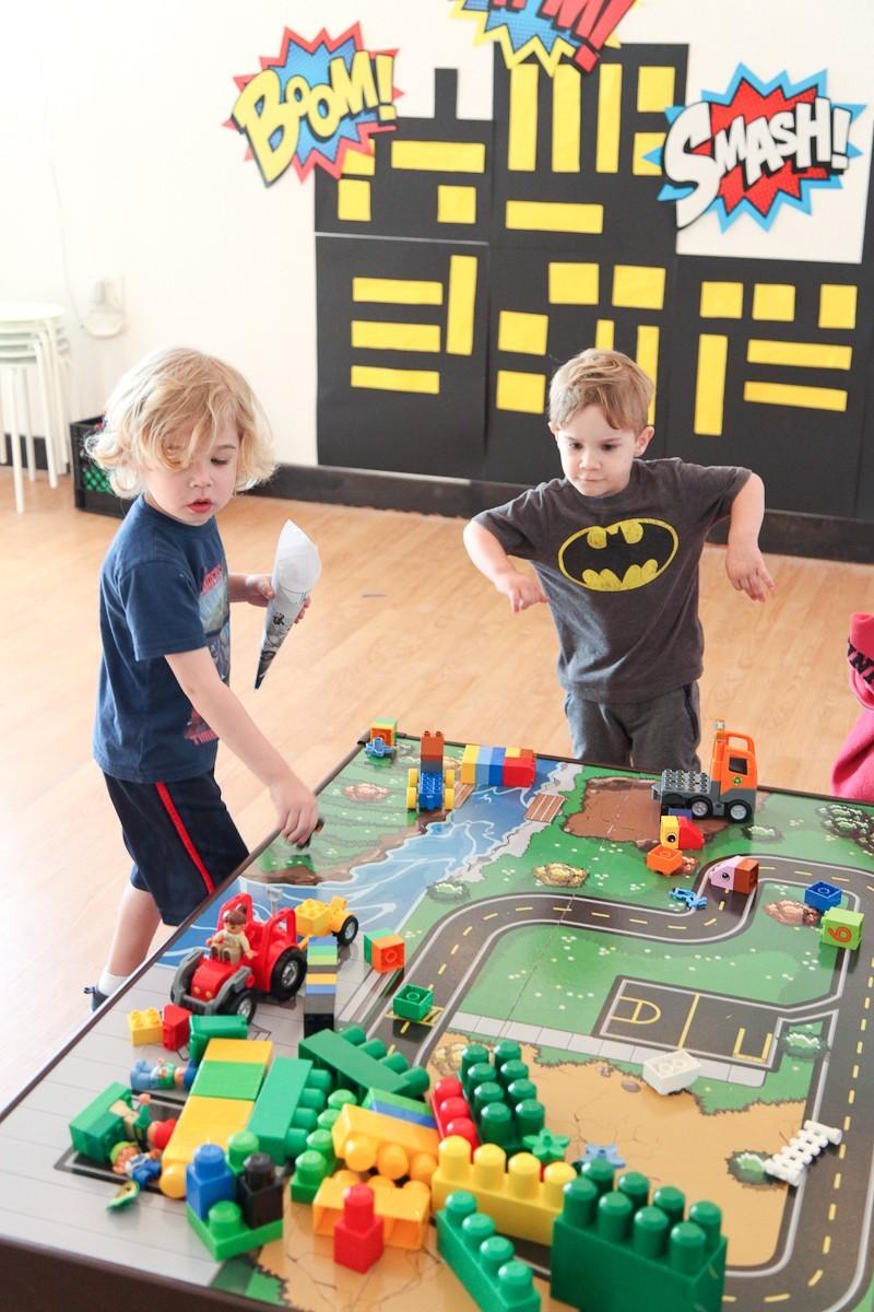 Brayden's Superhero Lego Birthday Party-38
