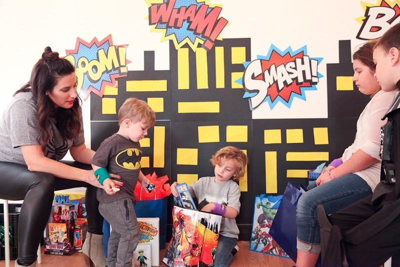 Brayden's Superhero Lego Birthday Party-4