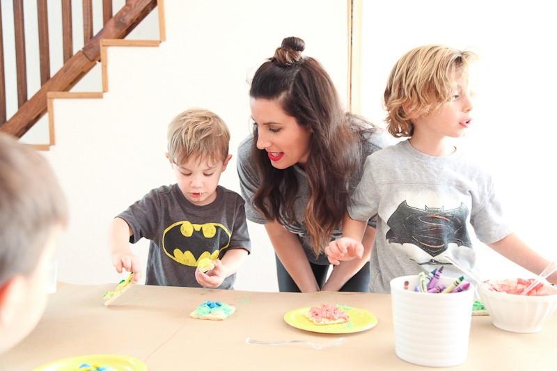Brayden's Superhero Lego Birthday Party-48