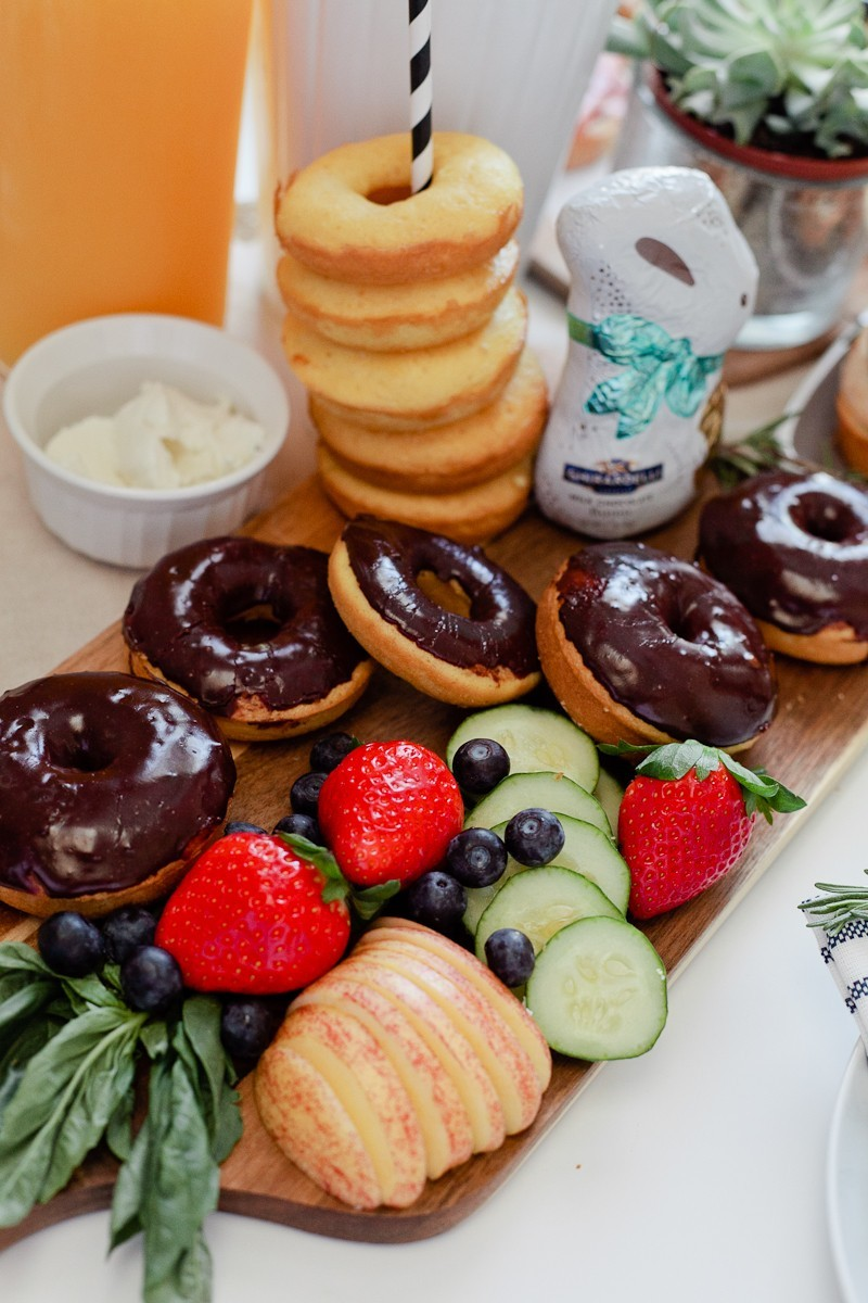 Easy Easter entertaining. Simply Delicious Easter Crostini Brunch with donuts and Ghiradelli chocolate!-25