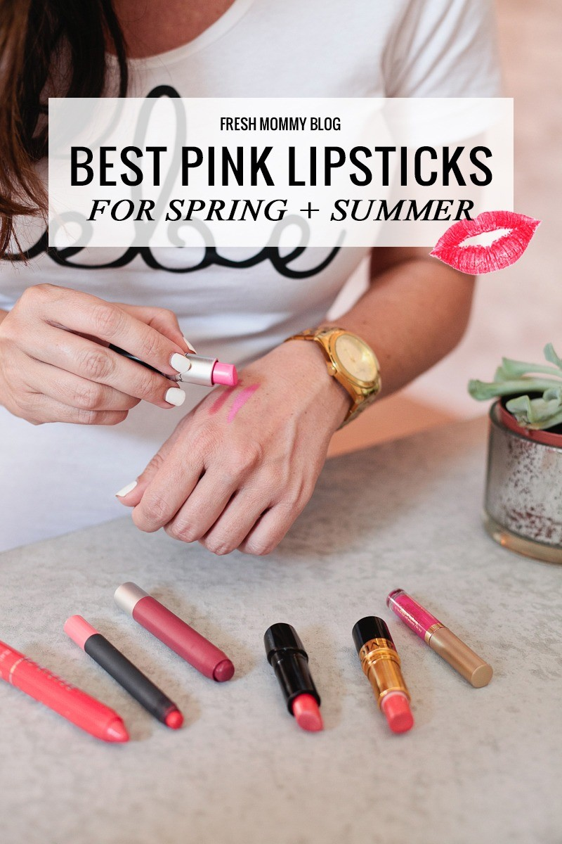 Best Pink Lipsticks for Spring and Summer