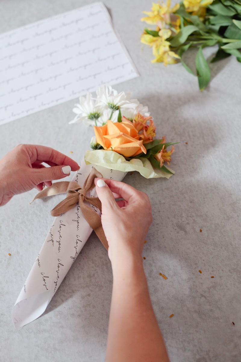 DIY Mini Floral Bouquet | Fresh Mommy Blog