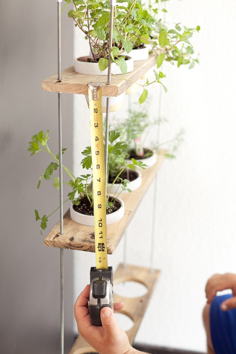 DIY Hanging Herb Garden  - Hanging Herb Garden DIY by popular Florida lifestyle blogger Fresh Mommy Blog