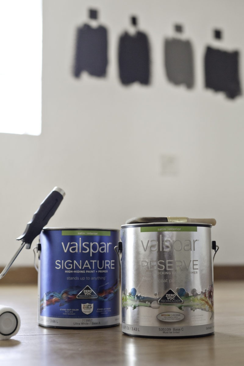 Room Design Inspiration with Valspar Paint | Master Bedroom and Nursery Nook in the Studio Loft Before Photo