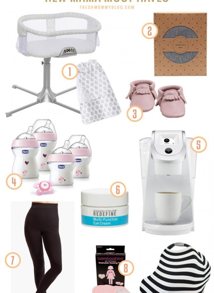 New Mama Must-Haves and Giveaway