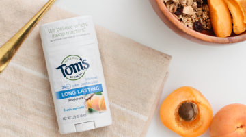 Take a More Natural Deodorant Approach with Toms of Maine. Unboxing and Review from Fresh Mommy Blog.