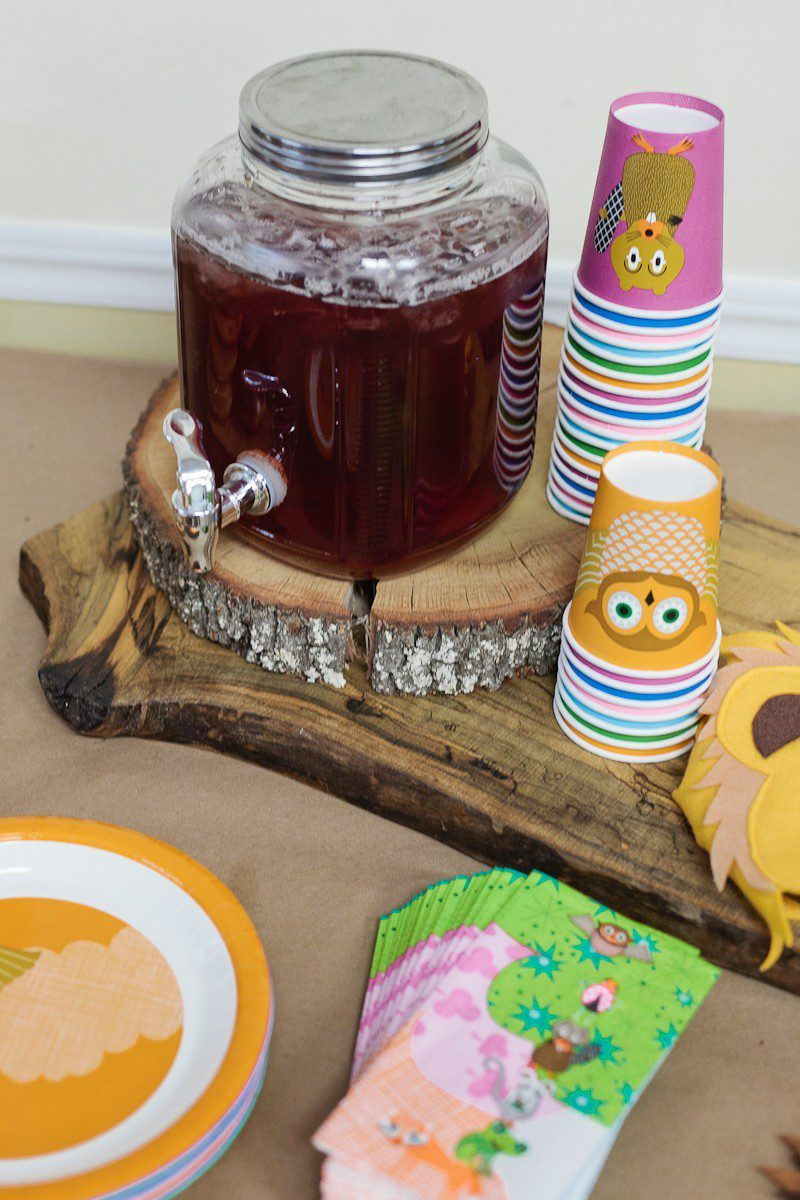 A Woodland Creature Birthday Party + What Does the Fox Say Celebration for Skylar turning THREE!