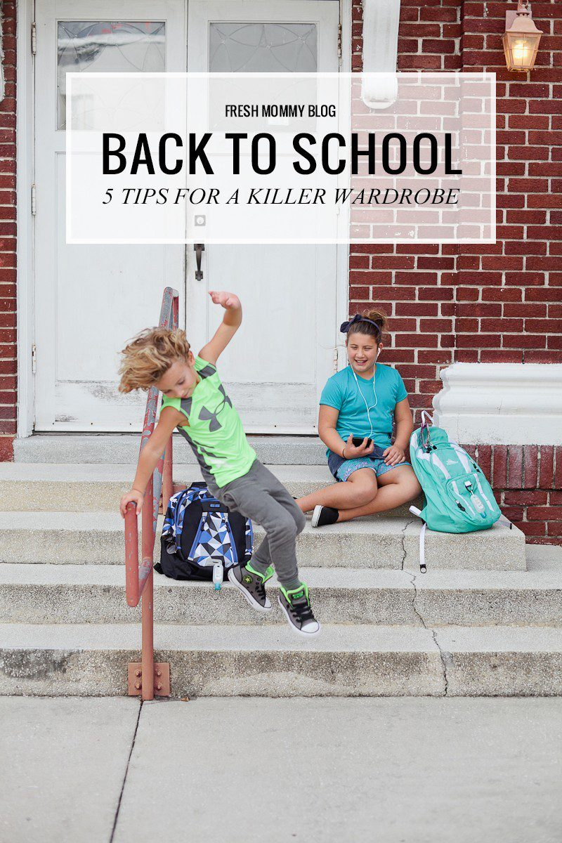 Back to School Shopping- 5 Tips to a Killer Wardrobe