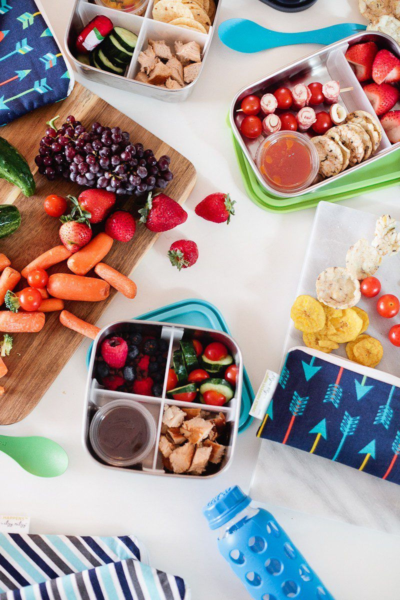 Five lunchbox lunchable hacks that are easy to put together, packed full of nutrients to fuel their school day and can absolutely be made ahead of time so the morning of is still as easy as reaching in the refrigerator.
