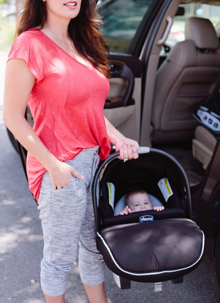 Car Seat Safety for #BabySafetyMonth + Giveaway