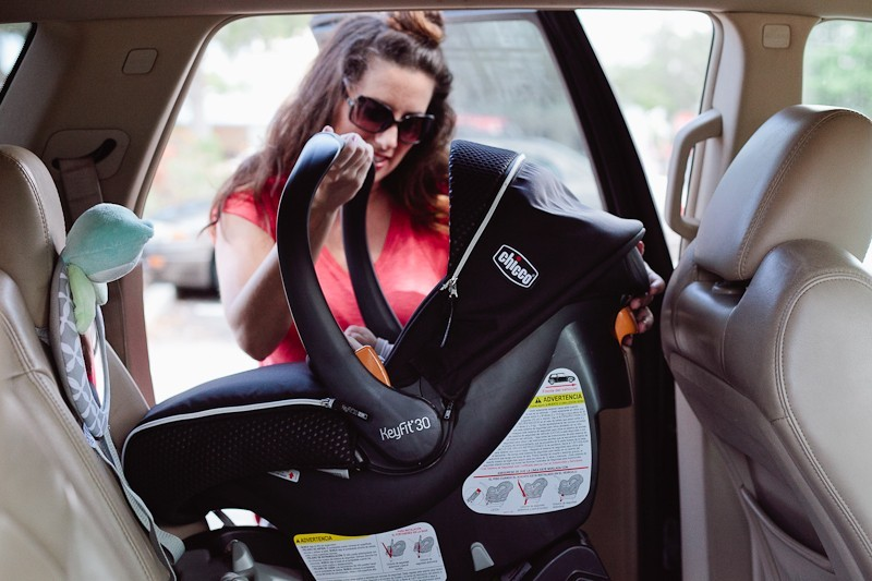 Car Seat Safety for #childsafetymonth with Chicco and Tabitha Blue of Fresh Mommy Blog! Get your car seat questions answered and feel confident when buckling your little bundle.