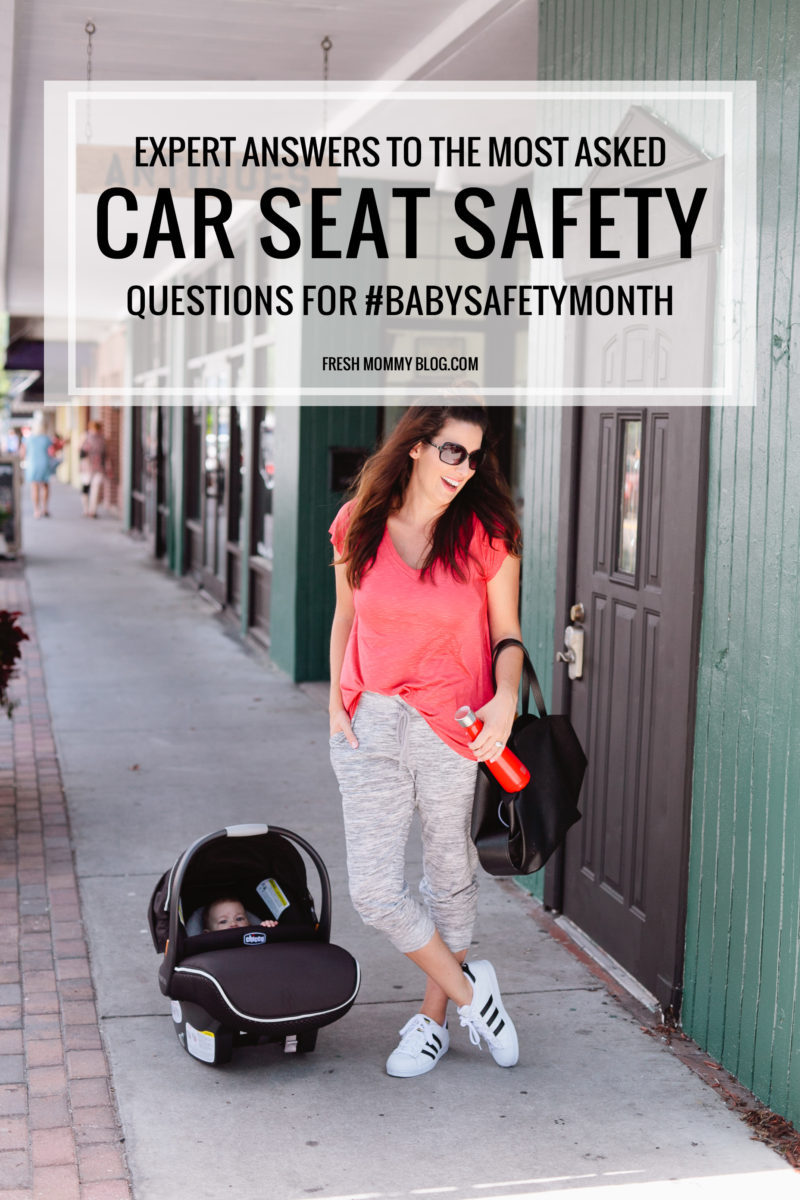 For #babysafetymonth we asked the experts at Chicco your car seat safety questions, since many time it's one big question mark. Get the answers + enter to win a Chicco Car Seat!