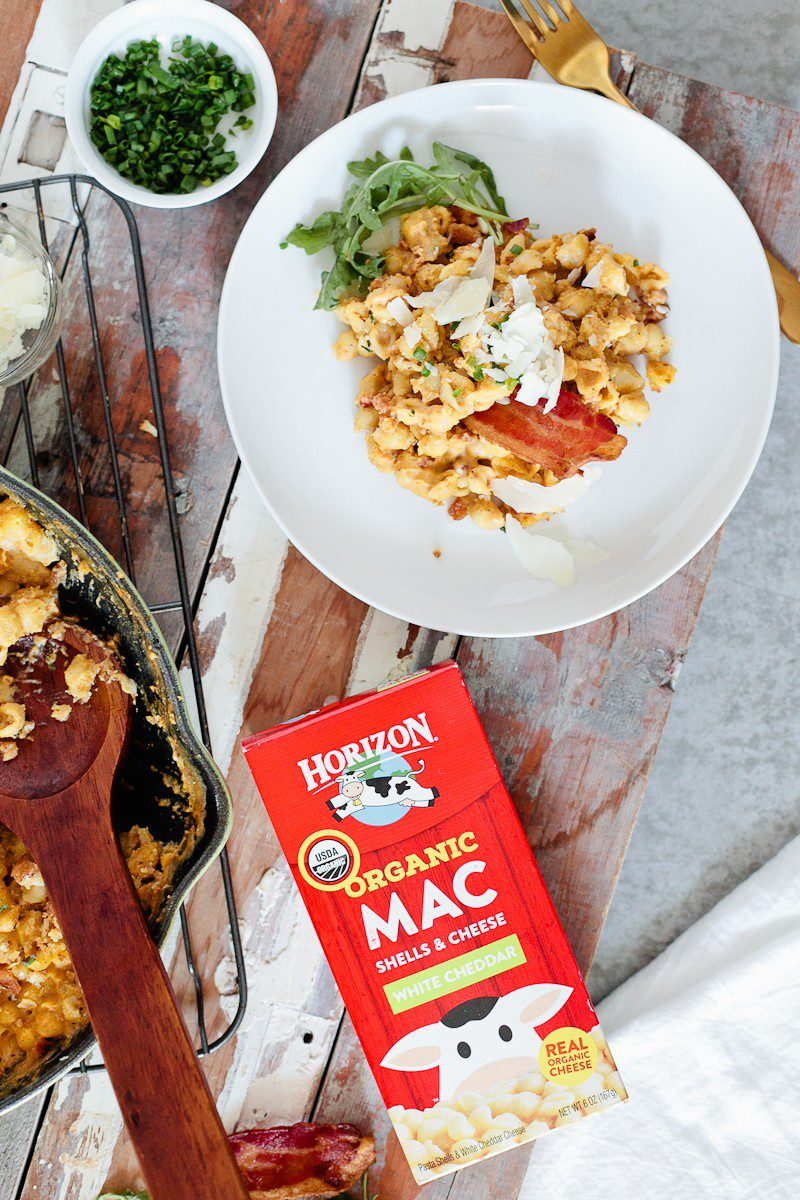 A Deliciously Creamy Pumpkin Bacon Mac and Cheese Recipe