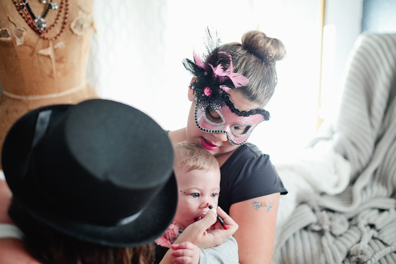 ... A DIY Family Circus Costume Complete With Strong Man, Lion Tamer   Ring  Master, ...