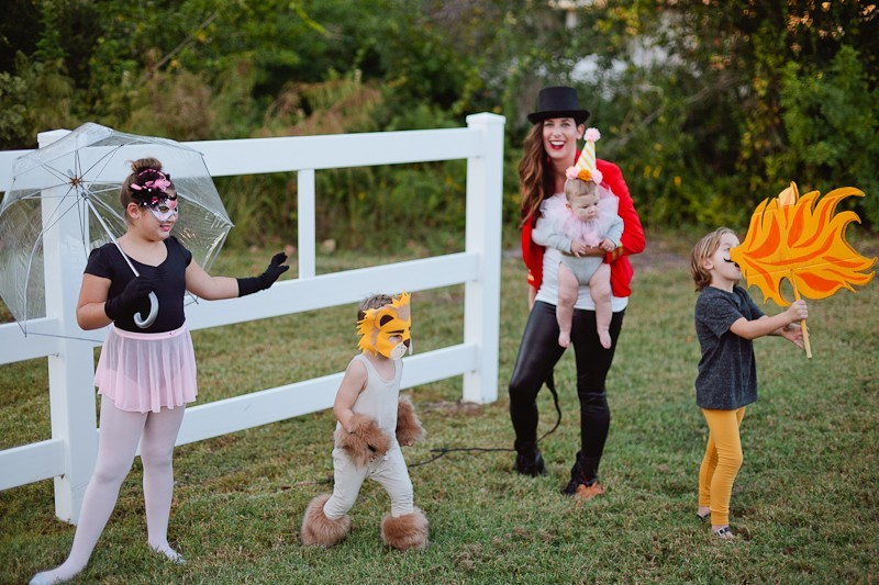 A Diy Circus Family Costume Fresh Mommy Blog