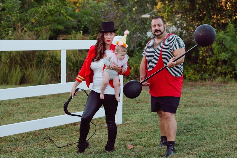 0e541e5d9 ... A DIY Family Circus Costume complete with Strong Man, Lion Tamer - Ring  Master,