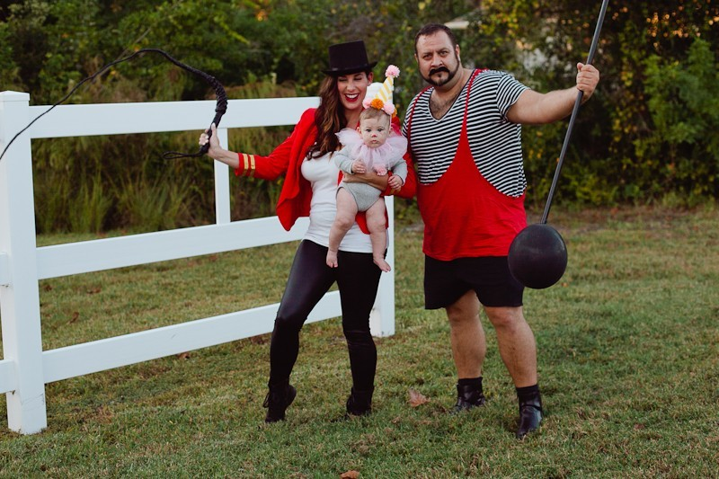 Wonderful A DIY Family Circus Costume Complete With Strong Man, Lion Tamer   Ring  Master, ...