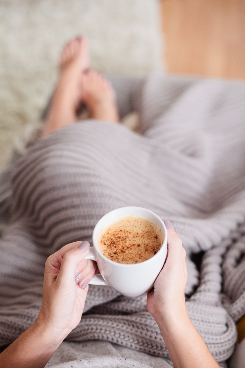 Homemade Pumpkin Spice Latte. Whether you want it clean and skinny (vegan too!) or you love adding in the cream and sugar, this homemade pumpkin spice latte recipe totally takes the cake. Save money and try your own PSL!| Homemade Pumpkin Spice Latte Recipe featured by popular Florida lifestyle blogger, Tabitha Blue of Fresh Mommy Blog