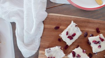 If you're looking for a quick, fun and festive dessert to add to any home or party menu these Cranberry Bliss Blondies are a must for your go-to reperatoir!