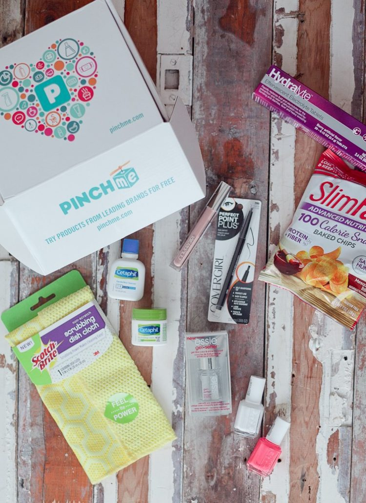 Unboxing: PINCHme Free Monthly Sample Box