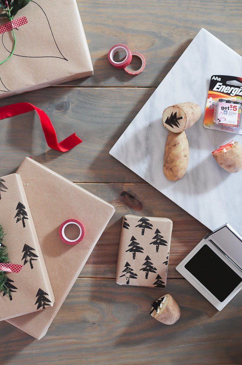 | Easy and simple Christmas gift wrapping ideas featured by top Florida life and style blog, Fresh Mommy Blog