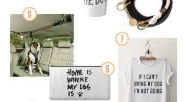 Gift Guide for the Dog Mom. If you've got a dog lover or a dog mama in your life, here are a few present ideas that you just can't go wrong with!