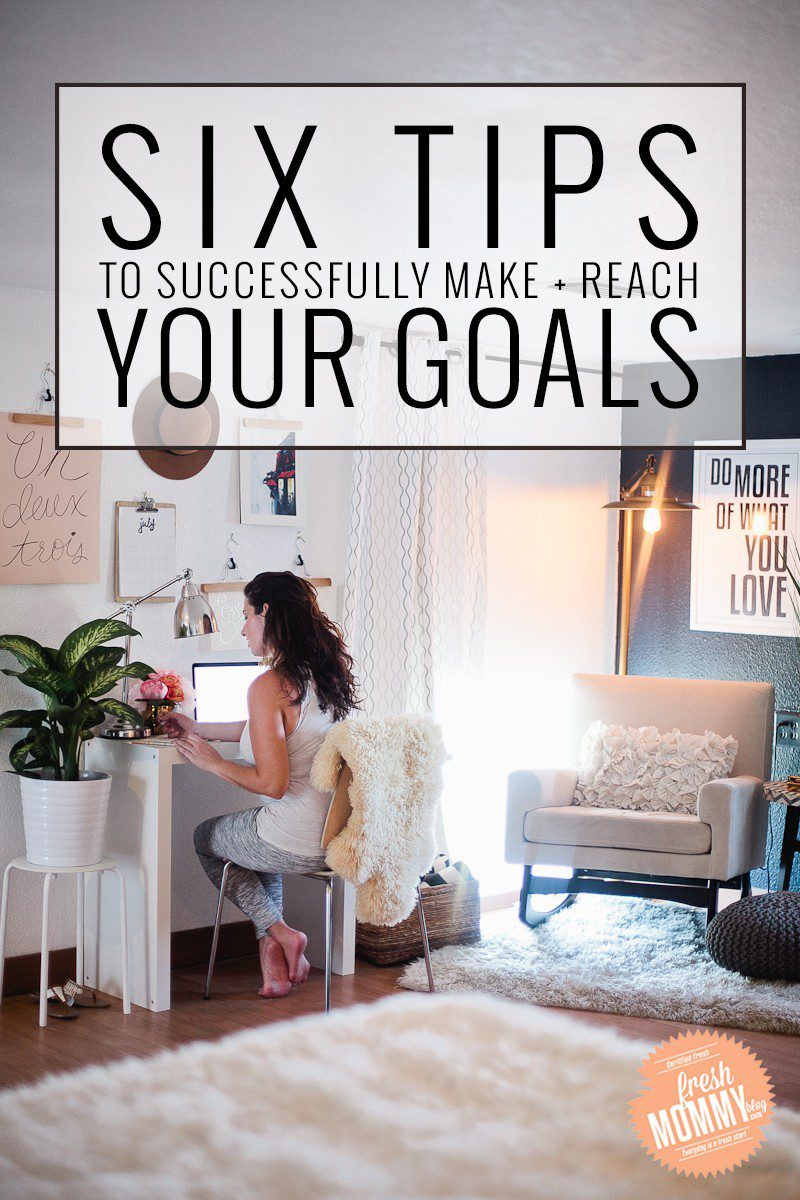 Six Tips to Successfully Make and Reach Your Goals!! A guide you need in your life. Calling all entrepreneurs, this one is for you.