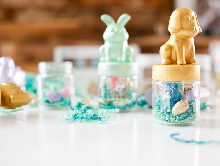 DIY Fun and Festive Easter Favor Jars The Kids Will Love!
