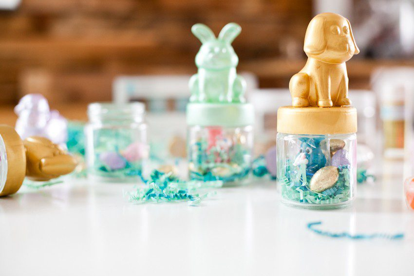 These DIY Fun and Festive Easter Themed Favor Jars That All The Kids Will Love!