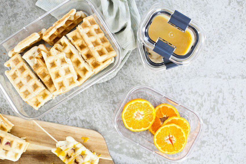 My best hack for busy mornings and meal prep! Plus a recipe for Waffle Dogs with Orange Maple Glaze