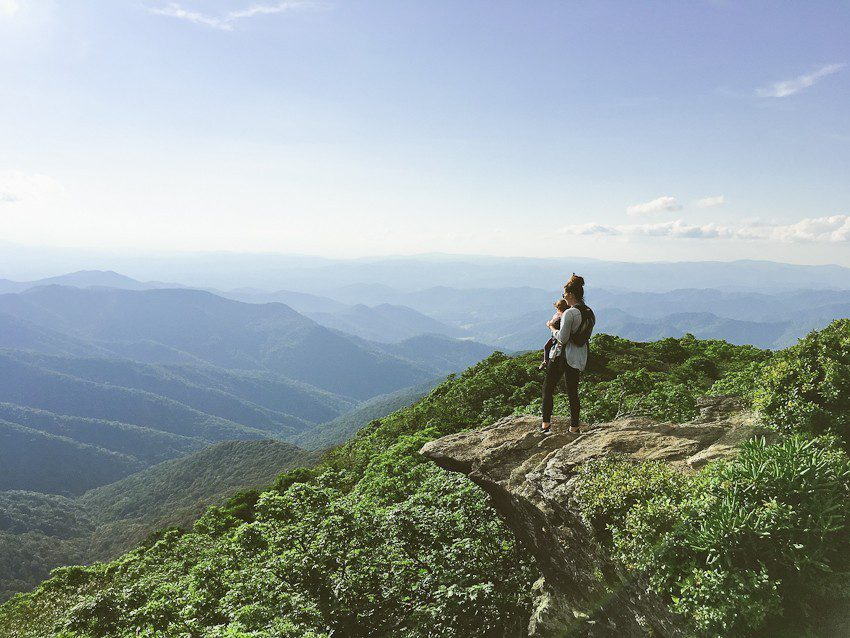 Asheville Family Travel! Places to eat, sleep and HIKE! Family travel in the Smokey Mountains.