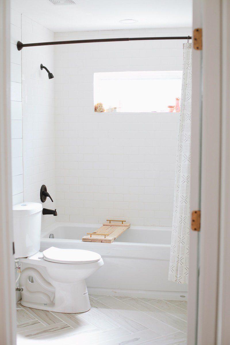 Bathroom Remodel Update Diy Faux Shiplap Walls Fresh