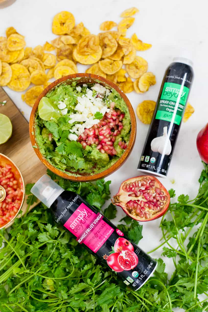 Pomegranate Guacamole recipe