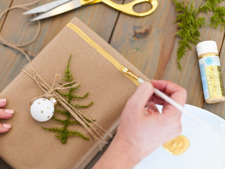 Easy DIY Gift Wrap Ideas for Christmas or any Holiday + The ONE Item You Don't Want to Forget