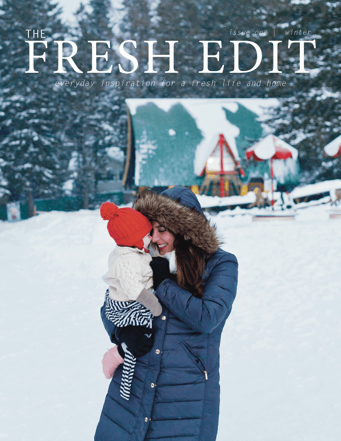 The Fresh Edit is a new quarterly magazine from Tabitha Blue of Fresh Mommy Blog that is filled with fresh ways to add personality to your entertaining, seasonal travel stories and tips from the fam, delicious recipes, attainable style tips and inspiration to help you focus on what really matters.