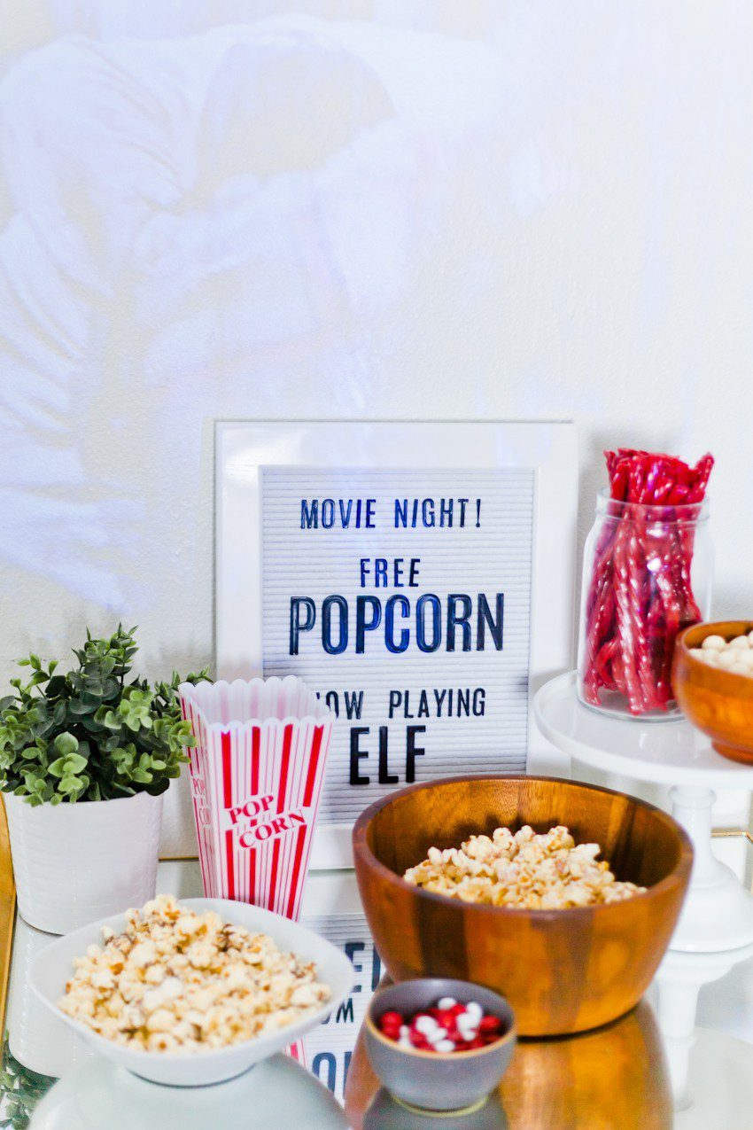 How to throw an epic Indoor Movie Night + Top 10 Family Christmas Movies you need to add to your playlist!