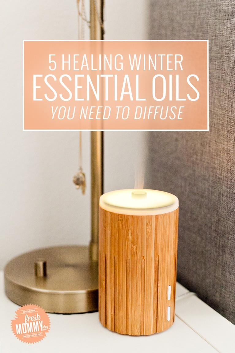 5 Healing Winter Essential Oil Blends You Need to Diffuse in Your Home to Keep Away the Sickness During Cold and Flu Season by popular Florida lifestyle blogger Fresh Mommy Blog